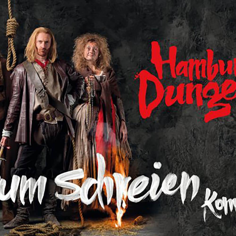 Treten Sie ein – ins Hamburg Dungeon