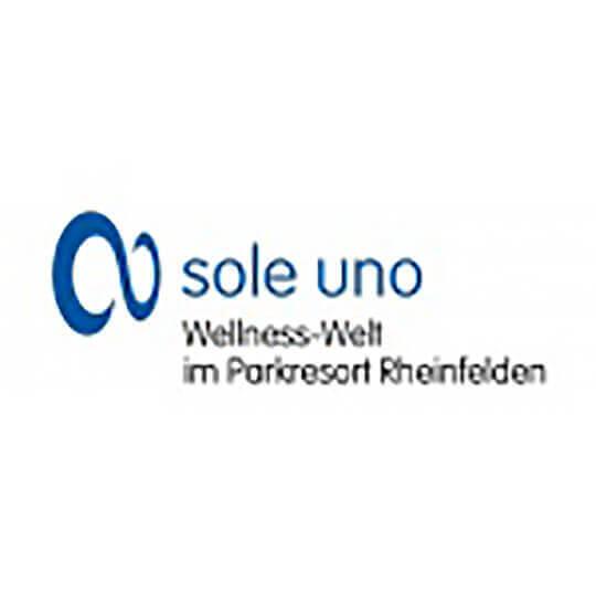 Logo zu sole uno, Wellness-Welt im Parkresort Rheinfelden