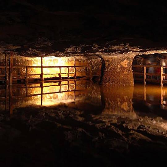 Vorschaubild zu Unterirdische Salzminen / Salzbergwerk Bex