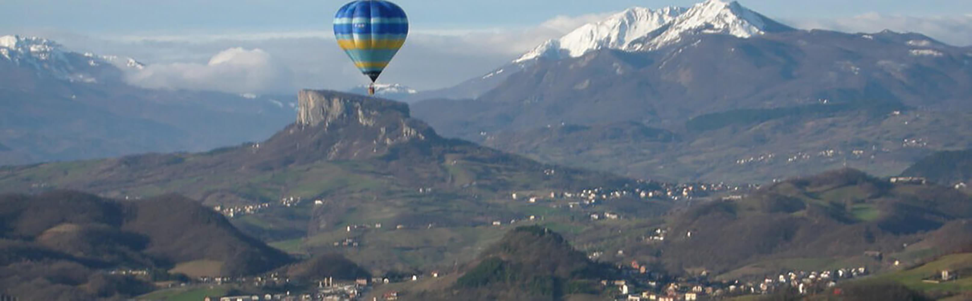 Ballonfahren mit Schweizer Meister Thedi Bolli 1
