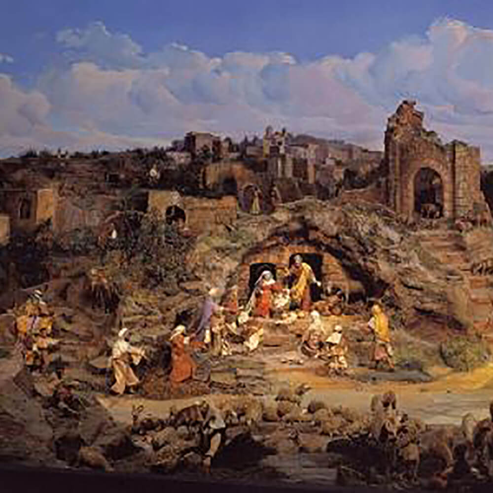 Diorama Bethlehem Einsiedeln