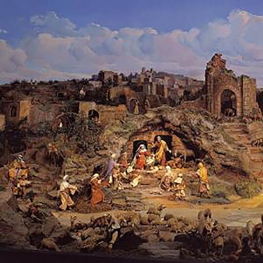 Vorschaubild zu Diorama Bethlehem Einsiedeln