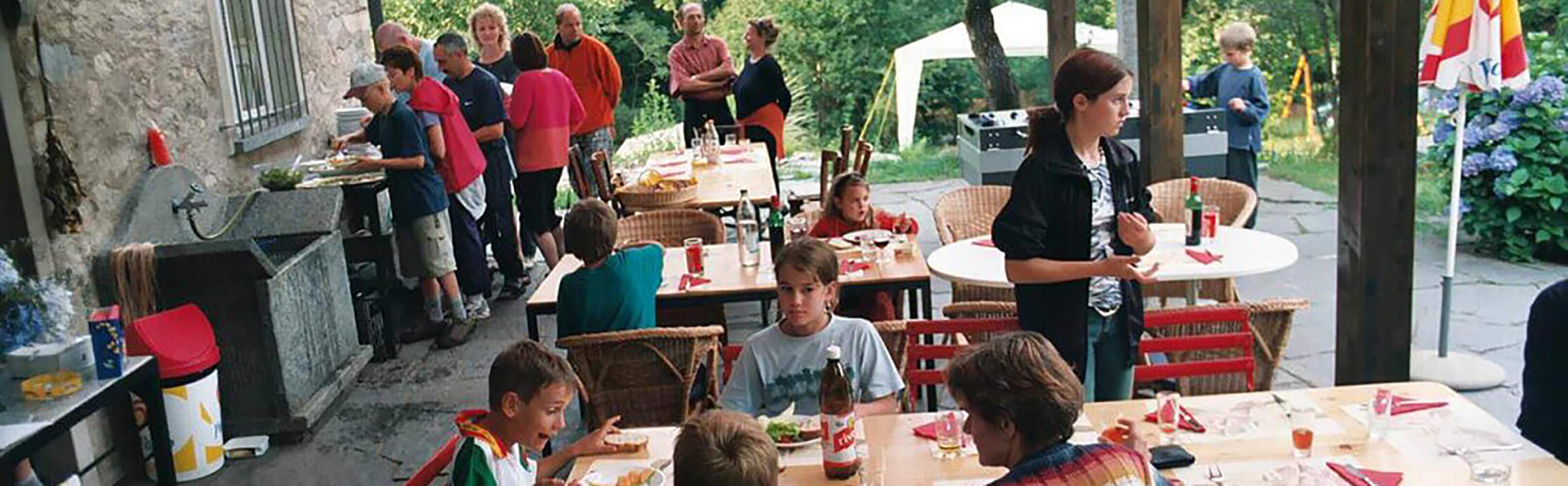 Familiencampingferien im Grünen 1