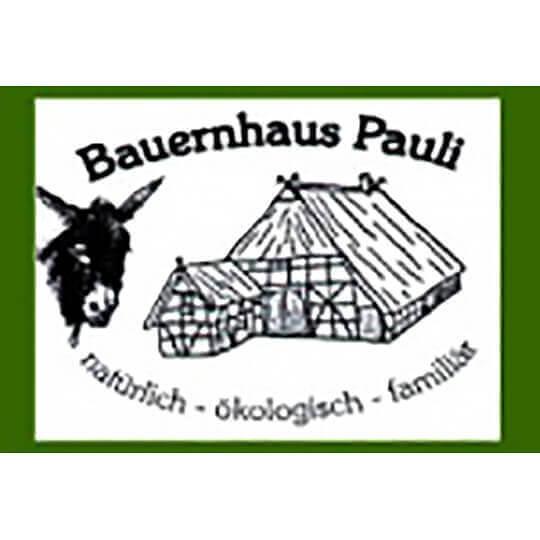 Logo zu Bauernhaus Pauli - zwei Ferienwohnungen direkt an der Elbe