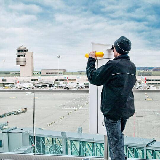 Flughafen Zürich - Das weltweit einzigartige Erlebnis