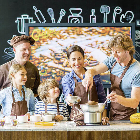 Vorschaubild zu Maison Cailler - La Chocolaterie Suisse