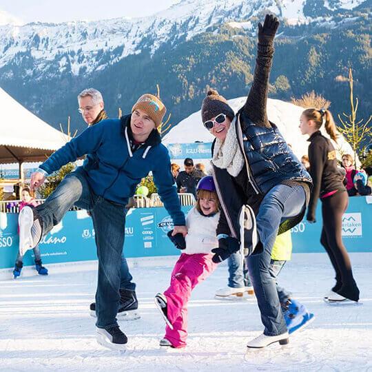 Vorschaubild zu Interlaken - Wintererlebnisse, rasant bis romantisch