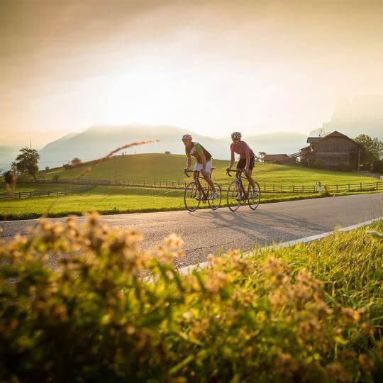 Südtirol mit dem Bike