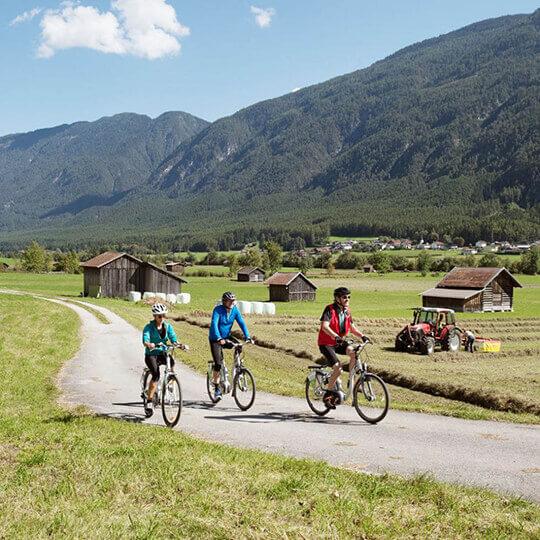 Vorschaubild zu Tirol - Genuss-Radfahren