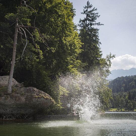 Tirol - Badespass auf Tirolerisch