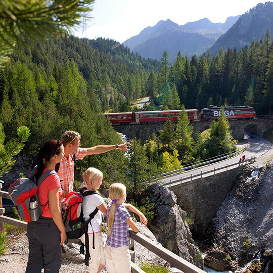 Bergün Filisur Tourismus