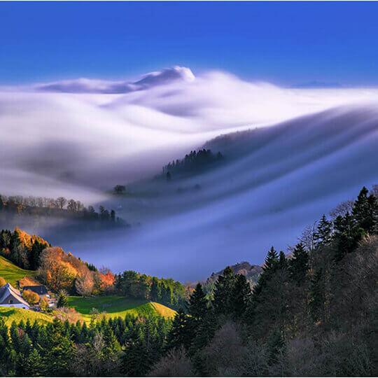 Der Belchen - das Wandergebiet im Schweizer Jura