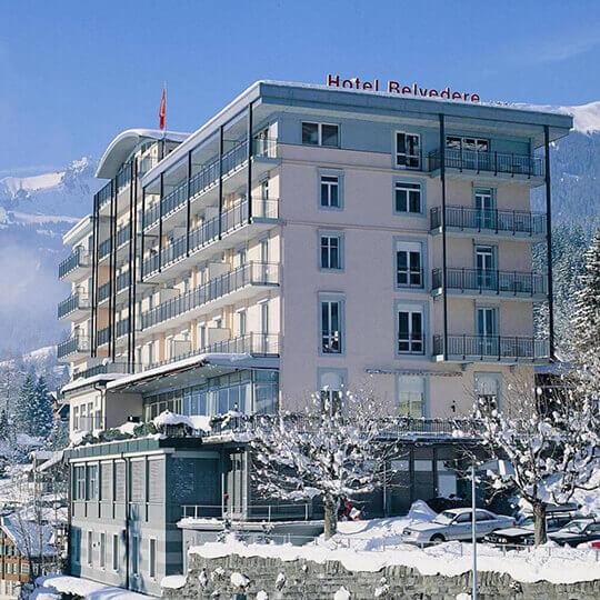 Vorschaubild zu Grindelwald im Winter - Ferien im Hotel Belvedere