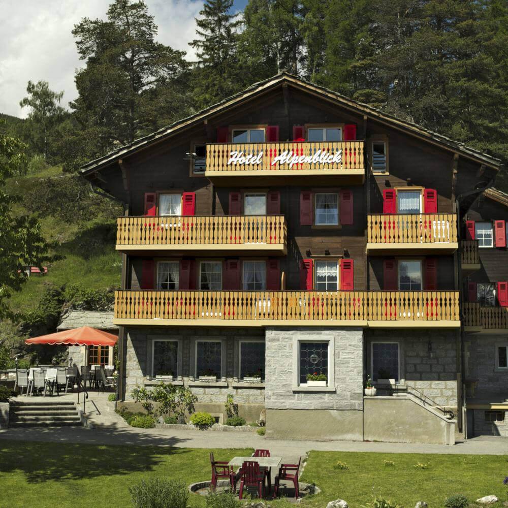 Hotel Restaurant Alpenblick Zeneggen