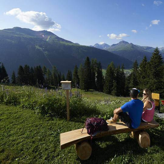 Sommer-Schlittelbahn Schatzalp 10