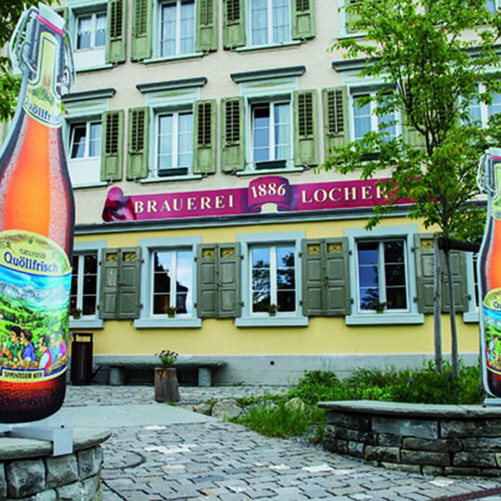 Besucherzentrum Brauquöll Appenzell
