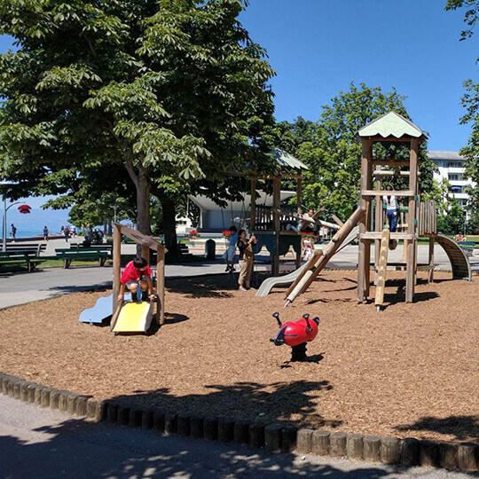 Jardin du Rivage - Vevey