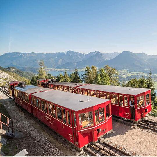 Schafbergbahn – nostalgischer Gipfelstürmer im Salzkammergut