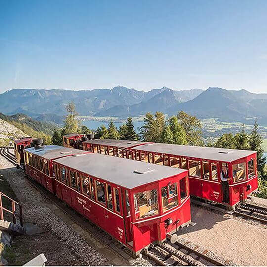 Vorschaubild zu Schafbergbahn – nostalgischer Gipfelstürmer im Salzkammergut