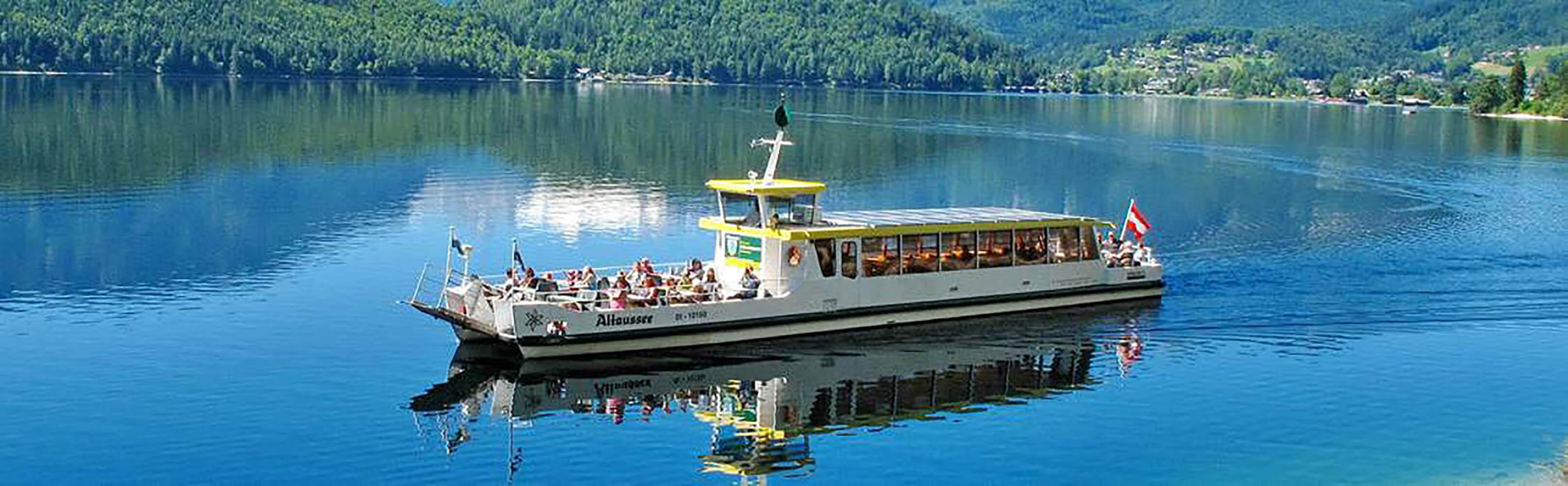 Altaussee-Schifffahrt unterwegs mit dem Solarschiff 1