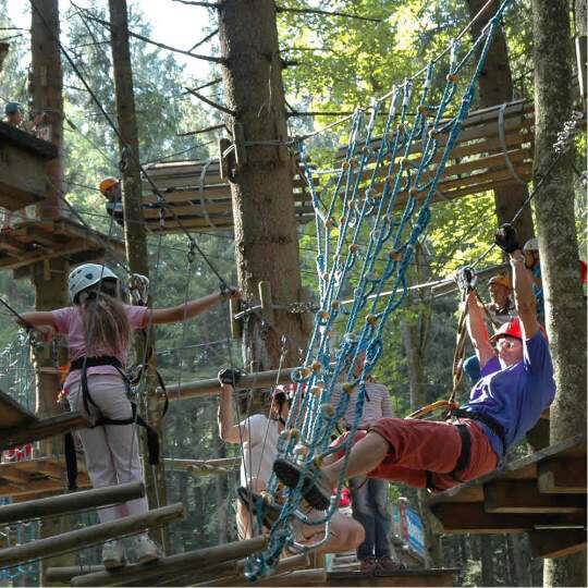 Abenteuerpark Gröbming - Österreichs grössten Kletterpark 10