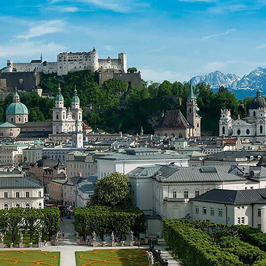 Vorschaubild zu Die Mozartstadt Salzburg