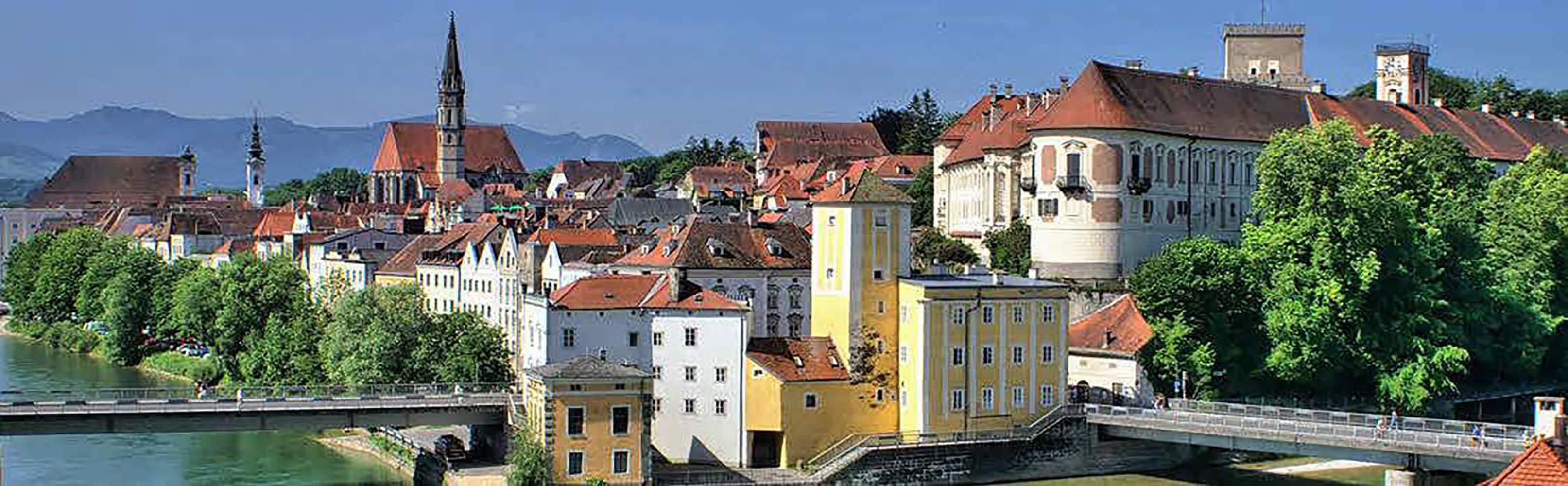 Die Stadt Steyr in Oberösterreich 1