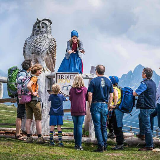 Plose - der Freizeitberg bei Brixen in den Dolomiten
