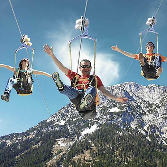 Vorschaubild zu Zipline Stoderzinken in Gröbming - Fliegen wie ein Vogel