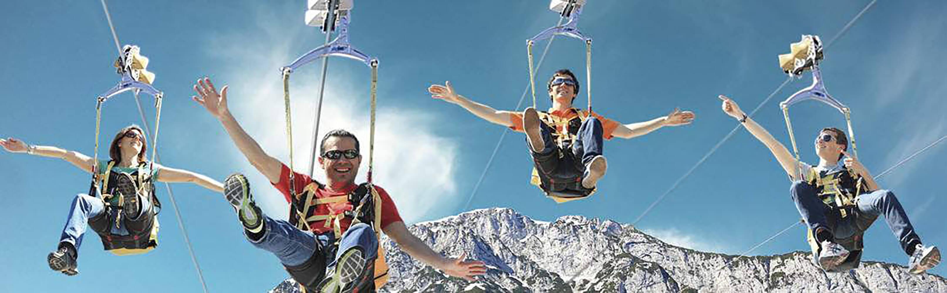 Zipline Stoderzinken in Gröbming - Fliegen wie ein Vogel 1