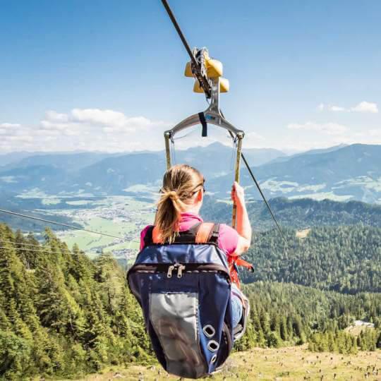 Zipline Stoderzinken in Gröbming - Fliegen wie ein Vogel 10
