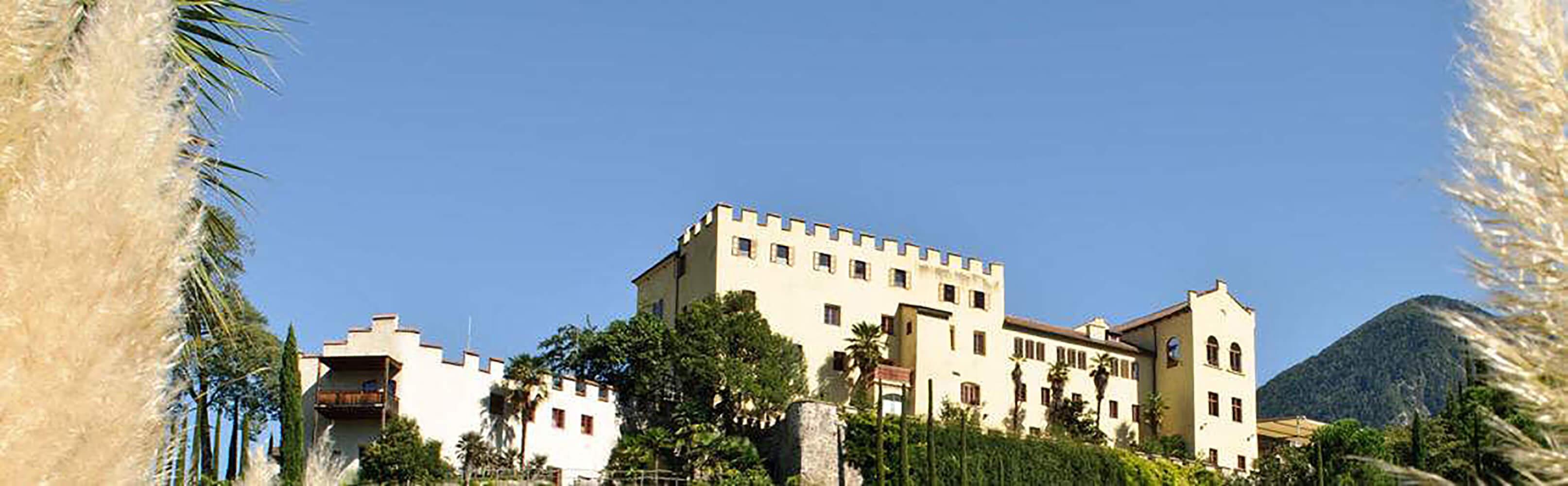 Die Gärten von Schloss Trauttmansdorff inMeran 1