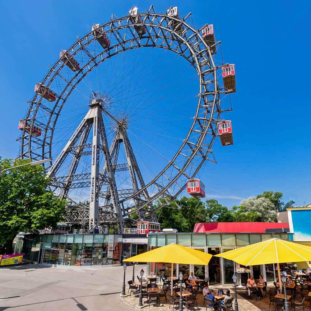 Wiener Riesenrad und Prater 10
