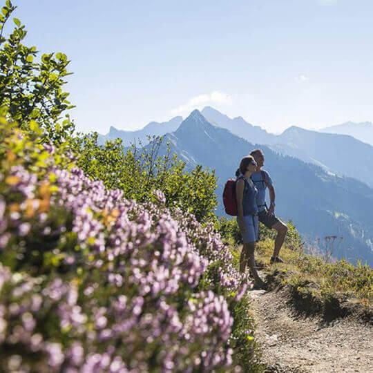 Der Biosphärenpark Grosses Walsertal - die Natur erleben