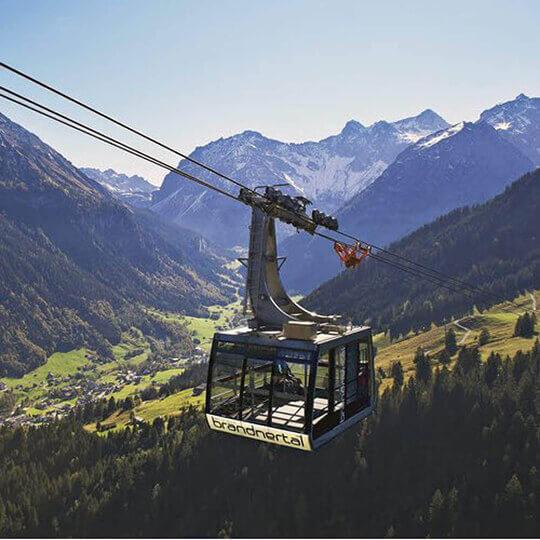 Vorschaubild zu Bergbahnen Brandnertal - bequem die Gipfel stürmen