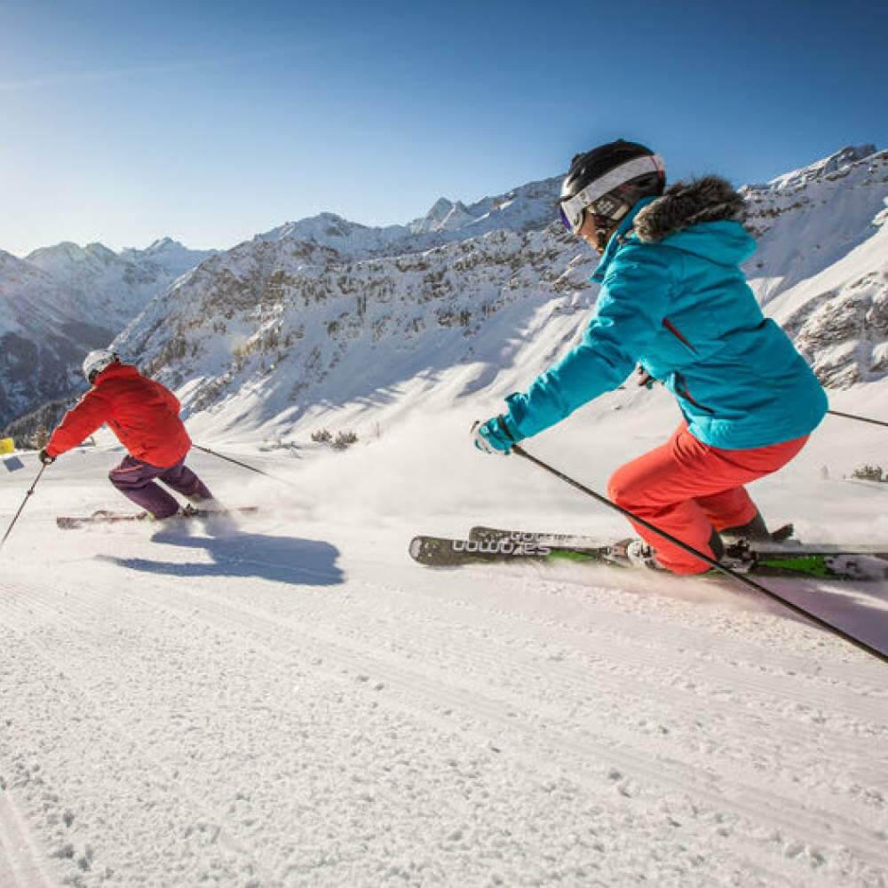 Skigebiet Brandnertal 10