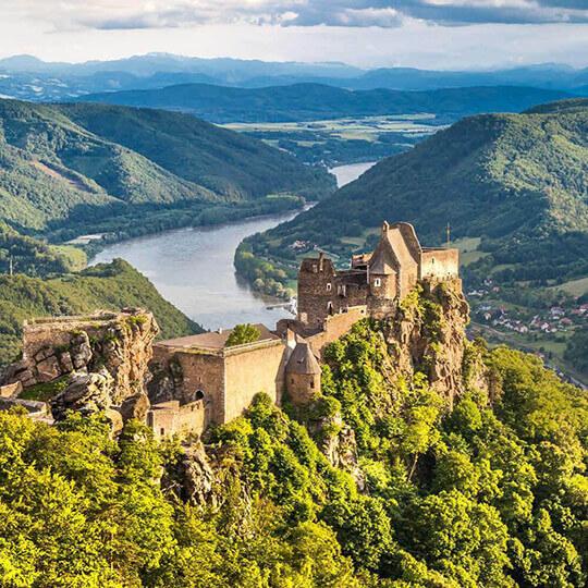 Vorschaubild zu Burgruine Aggstein in der Wachau