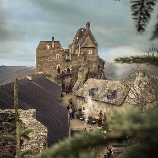 Burgruine Aggstein in der Wachau 10