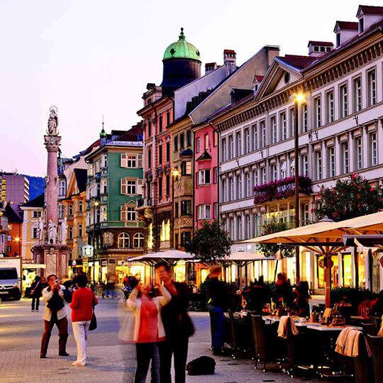 Vorschaubild zu Maria-Theresien-Strasse in Innsbruck