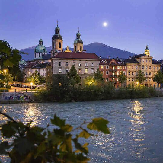 Innsbruck Tiroler Hauptstadt