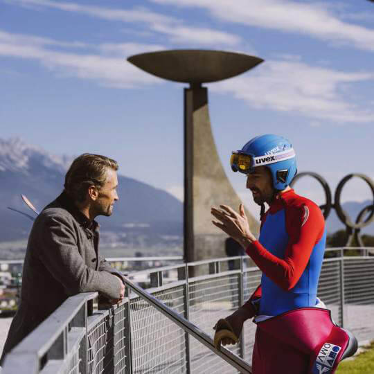 Bergisel Schanze bei Innsbruck  10