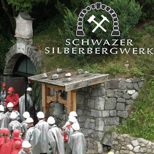 Schwazer Silberbergwerk in Schwaz Tirol
