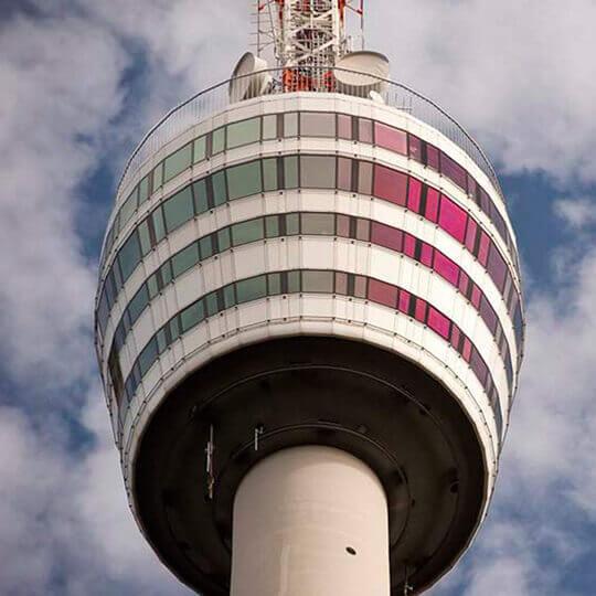 Der Stuttgarter Fernsehturm