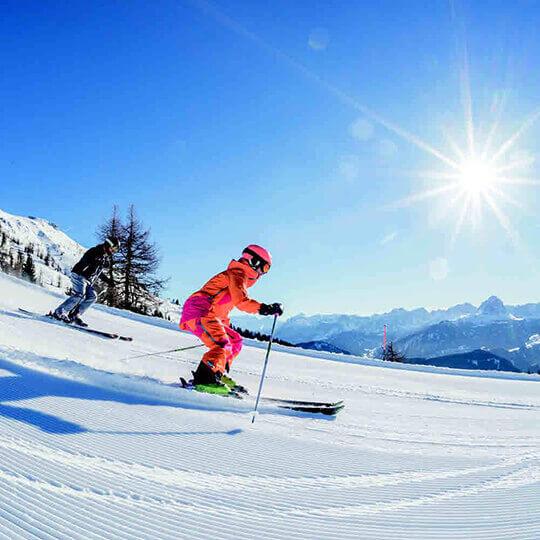 Kronplatz - Skigebiet Nr. 1 in Südtirol