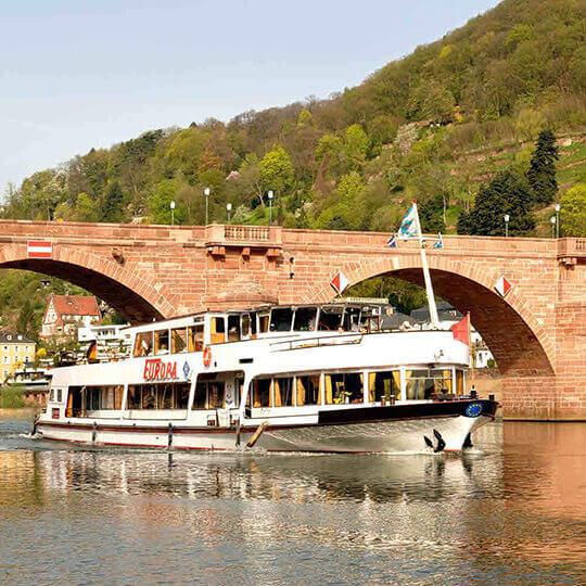 Vorschaubild zu Weisse Flotte Schifffahrt Heidelberg