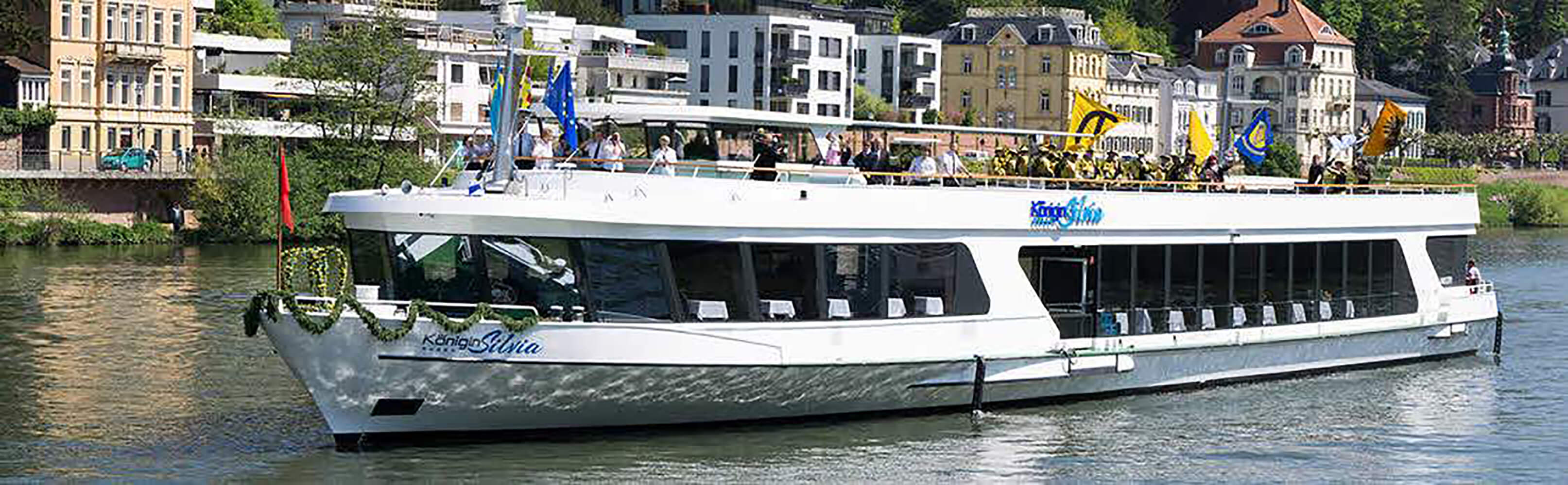 Weisse Flotte Schifffahrt Heidelberg 1