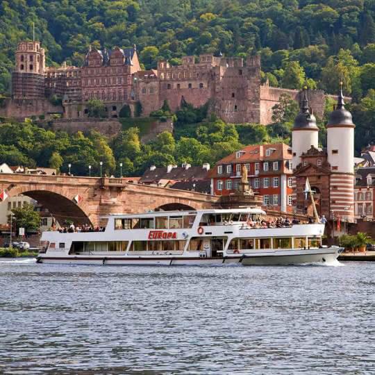 Weisse Flotte Schifffahrt Heidelberg 10