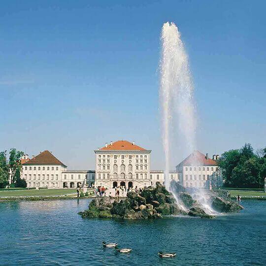 Schloss Nymphenburg und Parkanlagen München