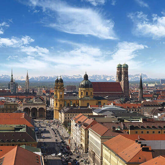 München  Hauptstadt von Bayern