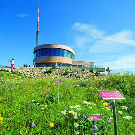 Hoher Kasten - Ostschweizer Aussichtsberg mitten in Europa
